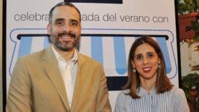 Oscar Saladín y Marta Betances.