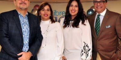 Juan Carlos Toral, Sahira Lama de Toral, Liliana Dumé y René Peguero.