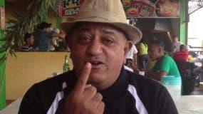 """El comediante Nicolás Díaz, """"Margaro""""."""