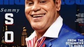 El dominicano Sammy Sosa en  portada de Sports Illustrated.