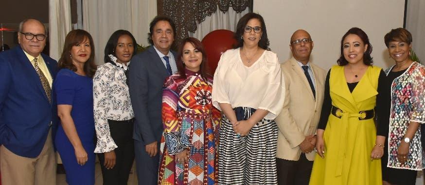 La directiva de la Sociedad Dominicana de Cardiología  y el comité organizador del congreso que será celebrado en el año 2019.