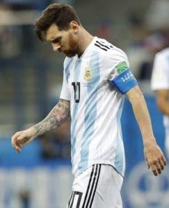 Lionel Messi. AP