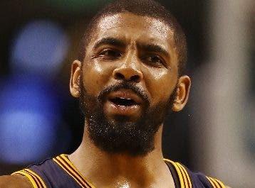 Kyrie Irving, con un pie en los Knicks de Nueva York.