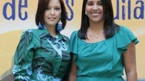 María Teresa Pérez y Bianca Árias.