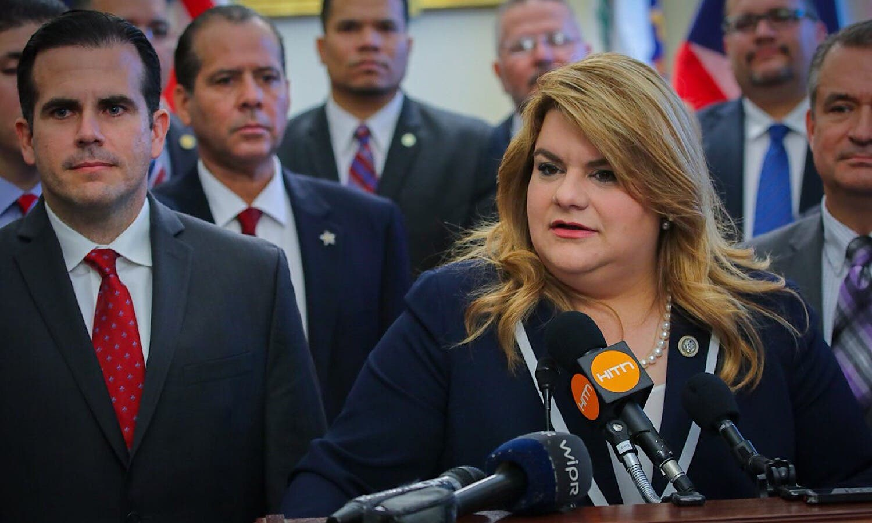Comisionada residente de Puerto Rico en la Cámara de Representantes de Estados Unidos, Jenniffer González Colón.