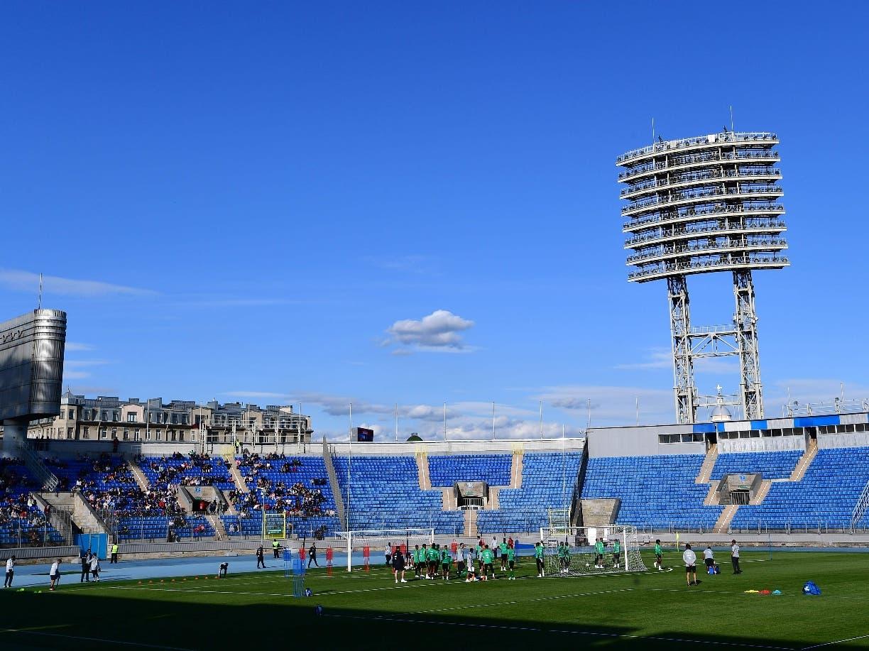 La totalidad de los estadios sedes del Mundial están siendo invadidos por las selecciones.
