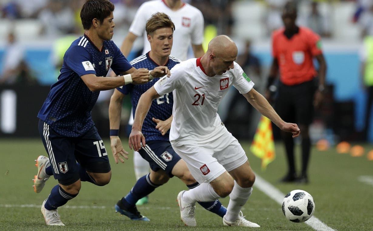 Japón pierde de Polonia, pero avanza a octavos final