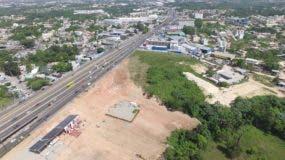 """El Ministerio de Obras Públicas ha acondicionado los terrenos donde se construirá la especie de """"estación central"""" de transporte.  Eliaser Tapia"""