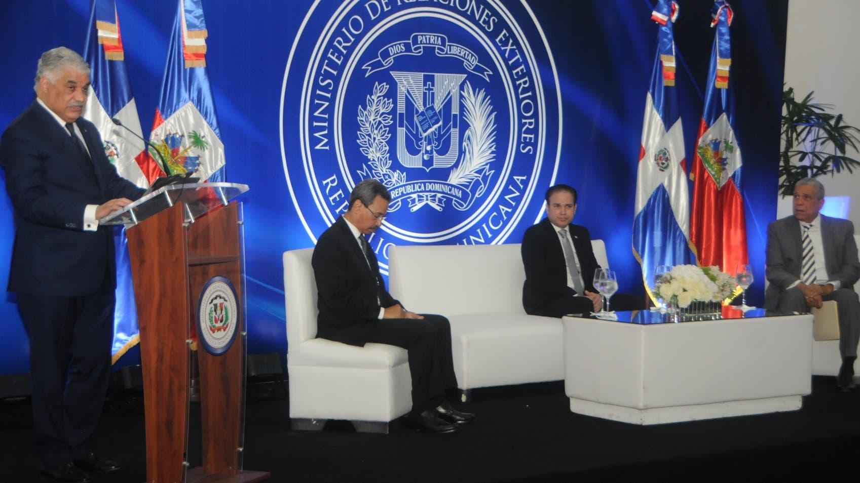 Vargas dijo que las autoridades dominicanas continúan buscando apoyo para desarrollar la iniciativa Laredo.  NICOLÁS MONEGRO