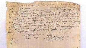 El documento formaba parte de la colección de la Biblioteca de Cataluña desde 1918.