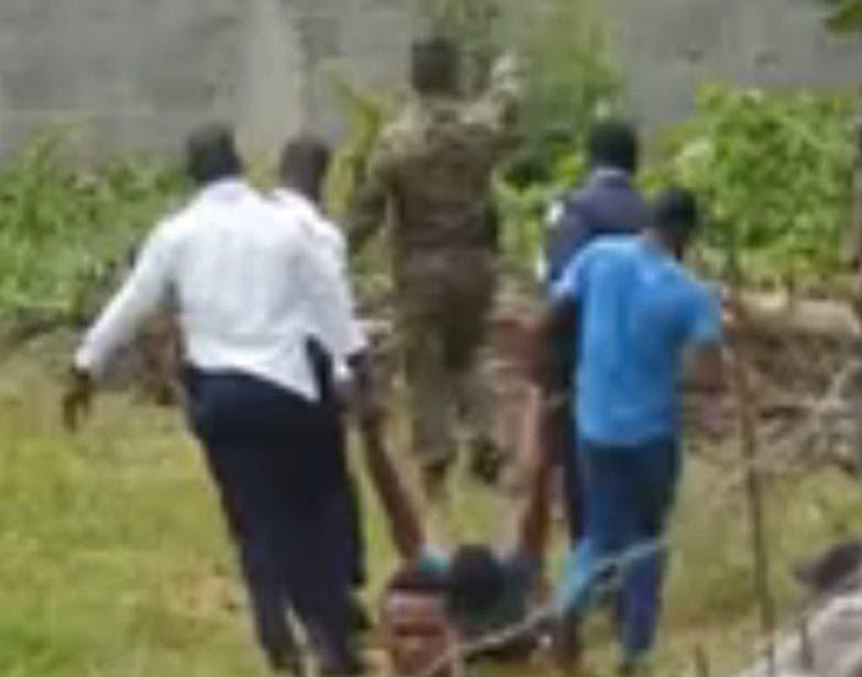 Imagen extraída del video que registró el hecho el viernes.