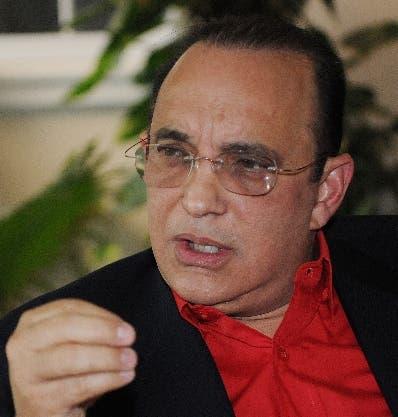 Federico (Quique) Antún, presidente del PRSC.ARCHIVO
