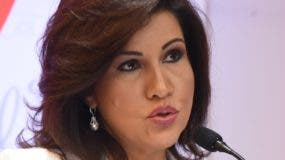 Margarita Cedeño, vicepresidenta de la República.