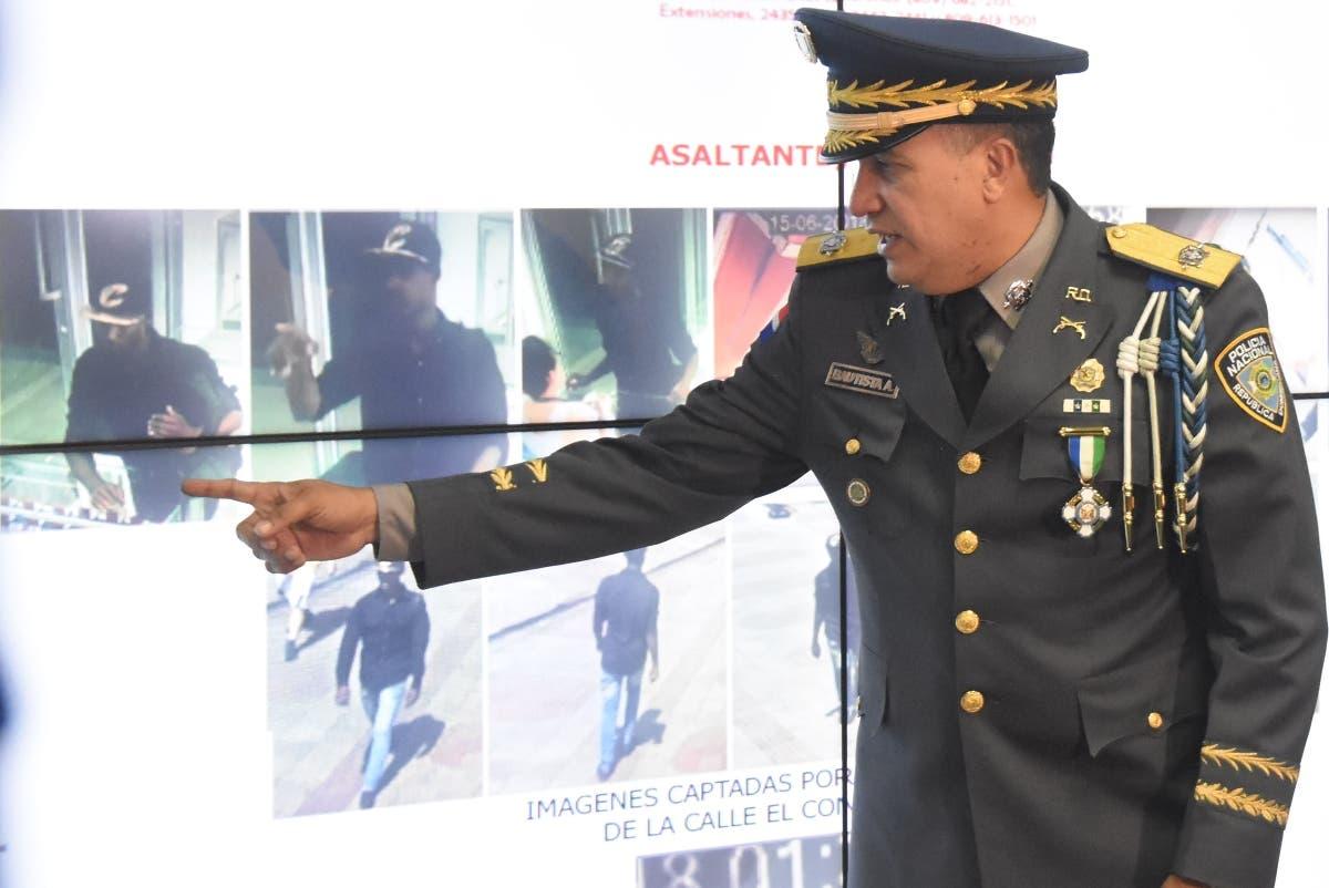 El director de la Policía ofreció  los detalles del caso y el apresamiento.  Alberto calvo.