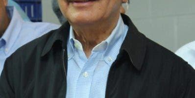 Danilo Medina en visita.