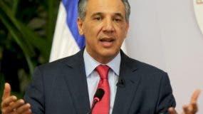 José Ramón Peralta ofreció declaraciones al respecto.  archivo
