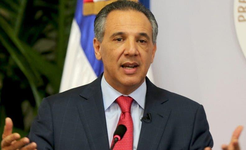 José Ramón Peralta, ministro Administrativo.
