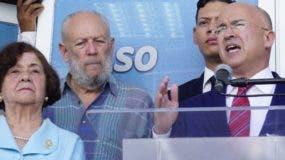Domínguez Brito recibió el apoyo de peledeístas.