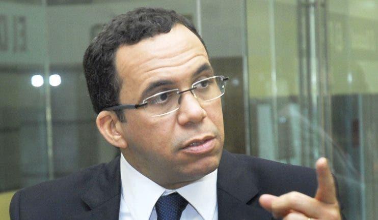 Andrés Navarro, aspirante  presidencial PLD. archivo