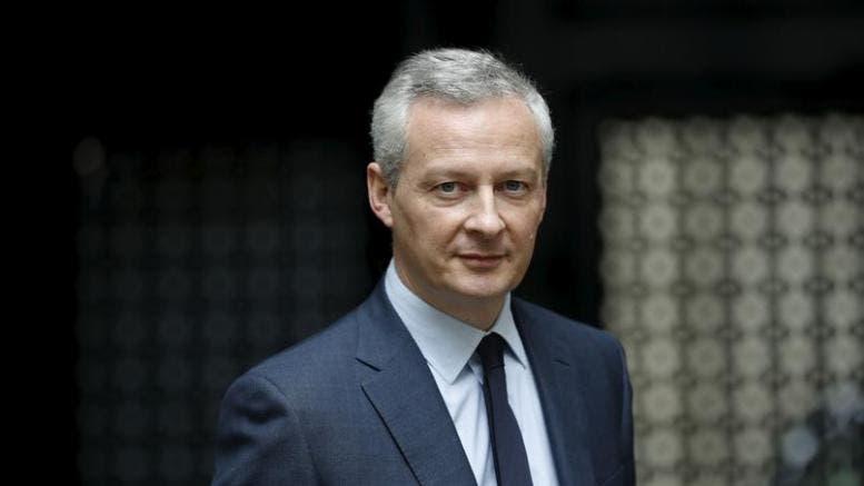 Bruno Le Maire, ministro de Finanzas francés.