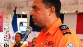 Whascar García, director de la Defensa Civil en Puerto Plata.