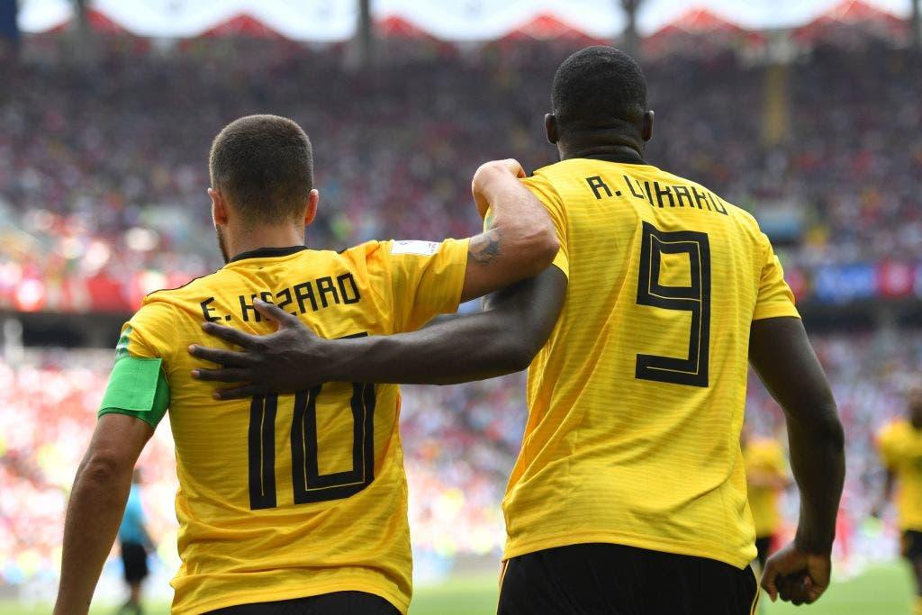 Hazard, otro de Lukaku y un gol de Batshuayi, Bélgica aplastó 5-2 a Túnez