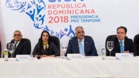La inauguración estuvo presidida por el canciller dominicano, Miguel Vargas, quien hizo un repaso de los logros alcanzados durante la presidencia semestral del Sica que su país asumió en enero y que concluye mañana con el traspaso a Belice.