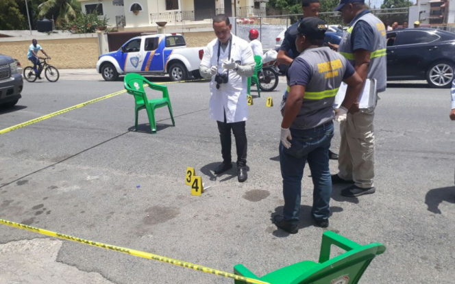 El robo fue perpetrado por cinco hombres armados. Foto: @Telenoticiasrd