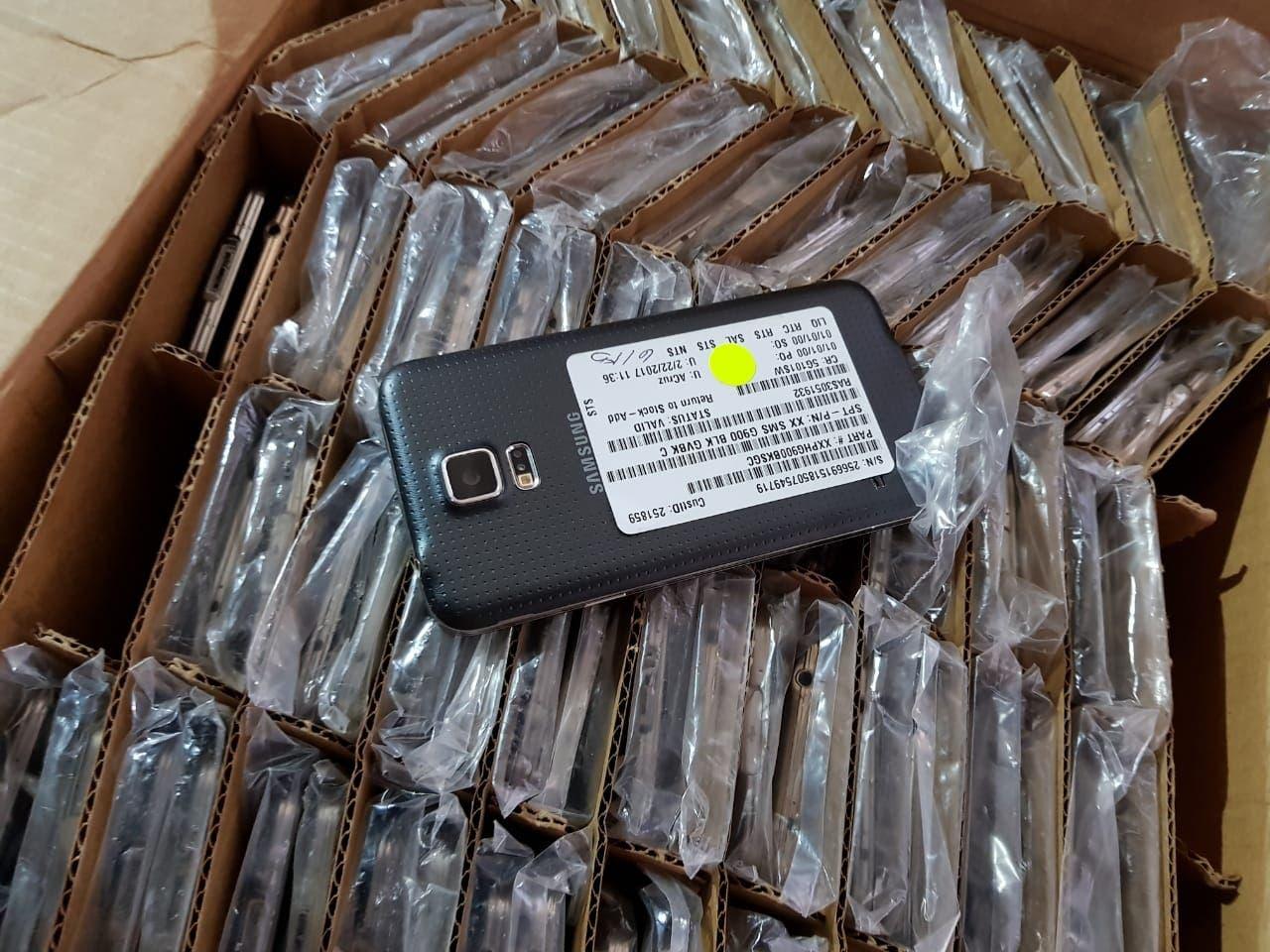 Parte de celulares detectados de contrabando.  fuente externa