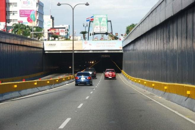 Obras Públicas cerrará túneles y elevados a partir de esta noche por mantenimiento