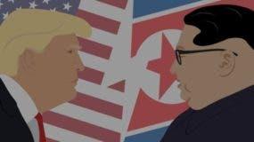 Los presidentes Donald Trump y Kim Jong Un sostendrán hoy un encuentro histórico en Singapur.