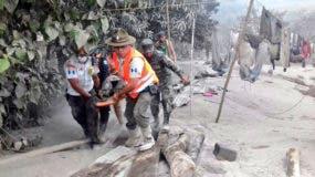 La erupción del volcán ha dejado 25 muertos en Guatemala.