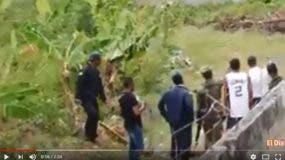 El prófugo aún estaba vivo cuando fue sacado de entre unos matorrales cerca de la cárcel de donde había escapado junto a otros cuatro internos.