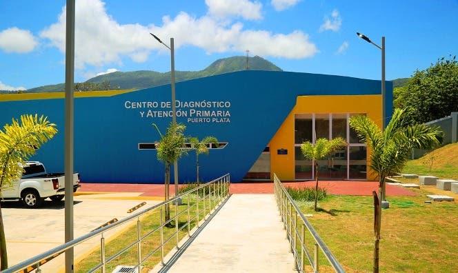 El centro de salud fue inaugurado hace más de un mes.