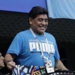 Diego Maradona, exastro del fútbol argentino.  AP