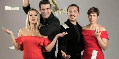Carina Larrauri, José Guillermo, Pepe Sierra y Nashla Bogaert conforman el elenco.