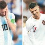Lionel Messi y Cristiano Ronaldo  fuera cuartos de final.   AP