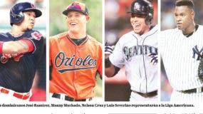 Los dominicanos José Ramírez, Manny Machado, Nelson Cruz y Luis Severino representarán a la Liga Americana.