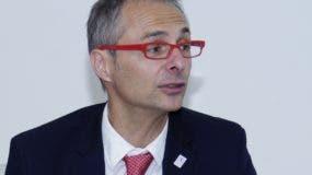 Ricardo Rivero Ortega, rector y catedrático  de la Universidad de Salamanca .  Eliser tapia.