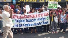 Residentes de Los Tres Brazos  advierten  no permitirán artimañas en proceso.  fuente externa
