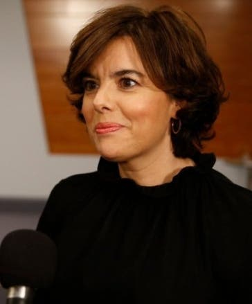 Soraya Sáenz de Santamaría es una gran aspirante.