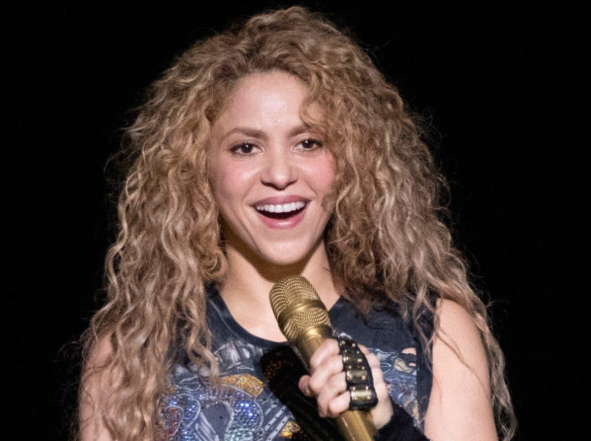 La  colombiana Shakira lleva una exitosa gira,  donde  entrega un show espectacular.