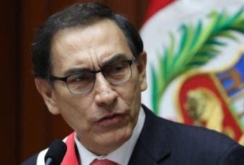 El presidente Martín Vizcarra.