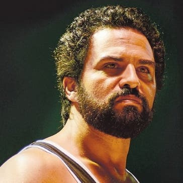 Manny Pérez,  protagonista de la cinta Veneno. Archivo.
