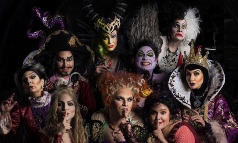 Varios actores se disfrazan para hacer sus personajes.