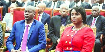 Los principales líderes de la oposición  de Haití  piden la renuncia, también, del presidente Jovenel Moïse  .  AP