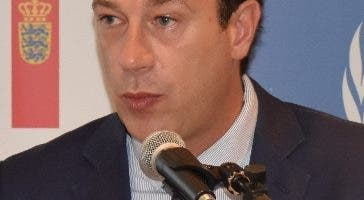 Thierry Rostan, representante de la  UNODC.  AP