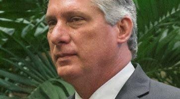 El presidente  cubano Miguel  Díaz-Canel.  AP