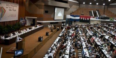 Los delegados de un centenar de partidos   se reunirán hasta mañana en La Hab ana, Cuba.