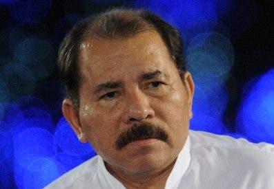 El presidente de Nicaragua Daniel Ortega.